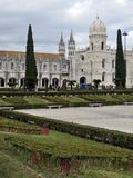 Monastero di Lisbona Jeronimos, Belem, Lisbona Immagini Stock Libere da Diritti