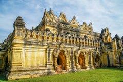 Monastero di Maha Aung Mye Bon Zan nel Myanmar Birmania immagine stock libera da diritti