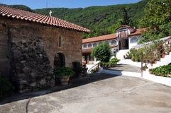 Monastero di Metamorfosi Sotiros in Grecia immagini stock