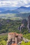 Monastero di Meteora Fotografia Stock Libera da Diritti