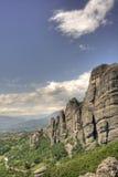 Monastero di Meteora Immagini Stock Libere da Diritti