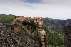 Monastero di Meteora, Grecia Fotografia Stock