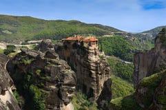 Monastero di Meteora, Grecia Immagine Stock Libera da Diritti