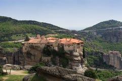 Monastero di Meteora, Grecia Immagini Stock