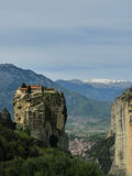 Monastero di Meteora, Grecia Fotografie Stock