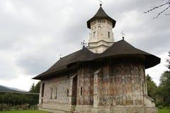 Monastero di Moldovita Fotografia Stock Libera da Diritti