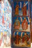 Monastero di Moldovita, uno dei monasteri dipinti famosi in Romania, eredità dell'Unesco, Immagini Stock
