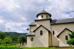 Monastero di Moraca, Kolasin, Montenegro immagini stock libere da diritti