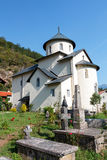 Monastero di Moraca, Montenegro Fotografia Stock