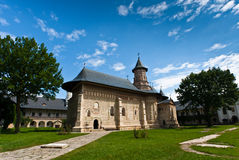 Monastero di Neamt in estate Fotografia Stock Libera da Diritti