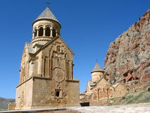 Monastero di Noravanq Fotografie Stock