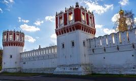 Monastero di Novodevich Fotografia Stock
