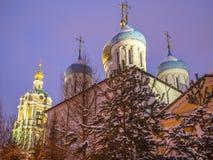 Monastero di Novospassky Immagini Stock