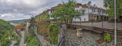 Monastero di Osogovo, Macedonia immagine stock libera da diritti