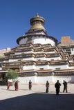 Monastero di Palkhor nel Tibet Immagine Stock
