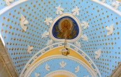 Monastero di Panormitis all'isola di Symi Fotografie Stock Libere da Diritti