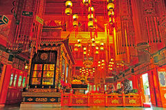 Monastero di Po lin, Hong Kong Fotografia Stock