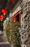 Monastero di Po Lin Isola di Lantau Hon Kong La Cina fotografia stock libera da diritti
