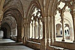 Monastero di Poblet fotografia stock