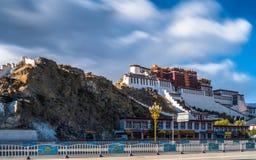 Monastero di Potala nel Tibet Immagine Stock Libera da Diritti