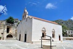 Monastero di Preveli fotografie stock libere da diritti