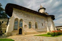 Monastero di Probota, Romania Fotografie Stock