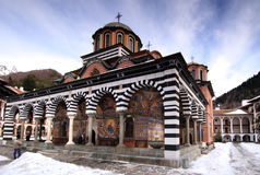 Monastero di Rila Immagini Stock