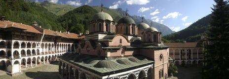 Monastero di Rila fotografia stock libera da diritti