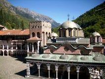 Monastero 1 di Rila fotografie stock libere da diritti