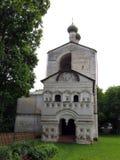 Monastero di Rostovsky Borisoglebsky Poggioreale rovina il portello in balcone Fotografia Stock Libera da Diritti