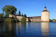 Monastero di Russia.Kirillo-Belozersky, generalità Immagine Stock Libera da Diritti