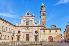 Monastero di San Giovanni Evangelista, Parma Imágenes de archivo libres de regalías