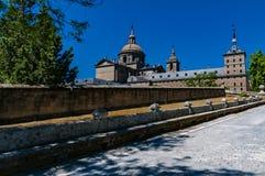 Monastero di San Lorenzo de El Escorial Madrid, Spagna immagine stock libera da diritti