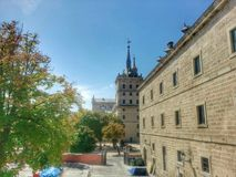 Monastero di San Lorenzo del Escorial Fotografia Stock Libera da Diritti