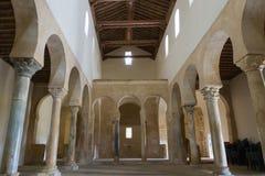 Monastero di San Miguel de Escalada - Fotografia Stock Libera da Diritti