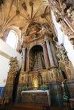Monastero di Santa Cruz (Coimbra) Fotografie Stock