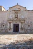 Monastero di Santa Maria de Poblet Fotografie Stock Libere da Diritti