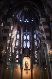 Monastero di Santa Maria de Valldonzella, altare della chiesa Immagini Stock Libere da Diritti