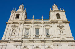 Monastero di sao Vicente de Fora Facade fotografia stock
