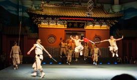 Monastero di Shaolin Fotografie Stock Libere da Diritti