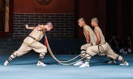 Monastero di Shaolin Fotografia Stock Libera da Diritti