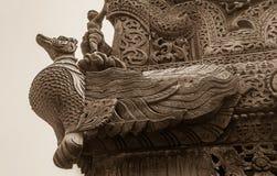 Monastero di Shwenandaw - Mandalay fotografia stock libera da diritti