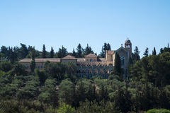 Monastero di silenzio Latroun, Israele Immagine Stock