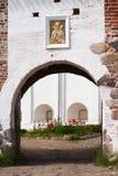 Monastero di Solovetsky immagine stock