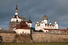 Monastero di Solovetsky Immagine Stock Libera da Diritti