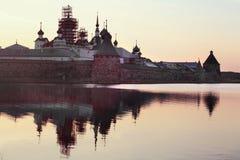 Monastero di Solovetsky Fotografia Stock Libera da Diritti