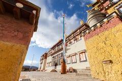 Monastero di Songzanlin in Shangrila, Cina immagini stock libere da diritti