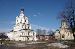 Monastero di Spaso-Andronikov, Mosca Immagini Stock