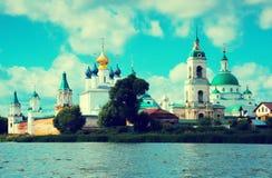 Monastero di Spaso-Yakovlevsky Fotografie Stock