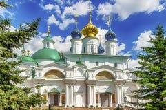 Monastero di Spaso-Yakovlevsky Dimitriev in Rostov Veliky Russia a Immagini Stock